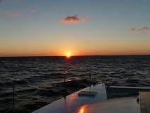 Auf See :-)